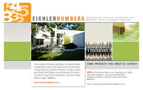 where to buy house numbers where to find house numbers for eichlers and mid century modern homes erdal team blog