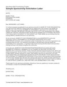 fundraising solicitation letter template best photos of non profit solicitation letter sle non