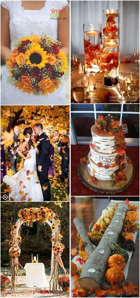 23 Best Fall Wedding Ideas in 2019   Fall Wedding Colors