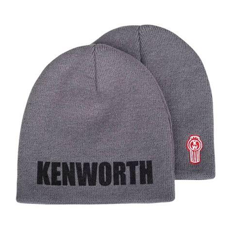 kenworth merchandise kenworth charcoal gray knit winter beanie hat kenworth