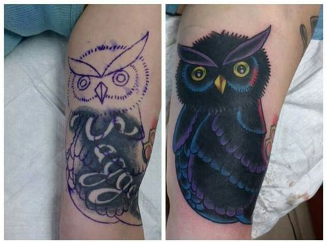 tattoo nightmares owl cover up owl cover up tattoo by camron austin tattoos by camron