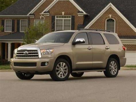 Toyota Recall Check Toyota Recalls 50 000 2003 Toyota Sequoia Suvs Autobytel