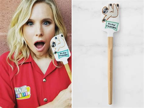 Kitchen Decor Ideas Themes by Kristen Bell S Sloth Spatula Is Perfect For Your Registry
