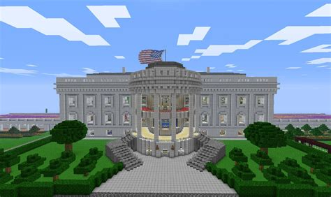 minecraft white house the white house grounds near 1 1 scale screenshots show your creation