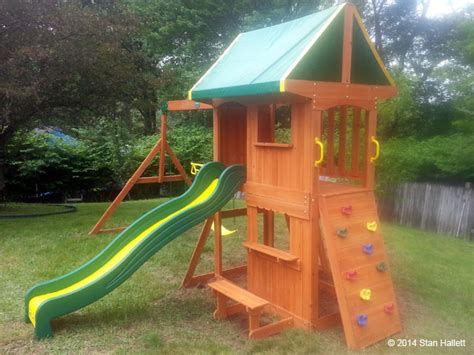 backyard somerset swing set backyard discovery swing set installation ma ct ri nh me