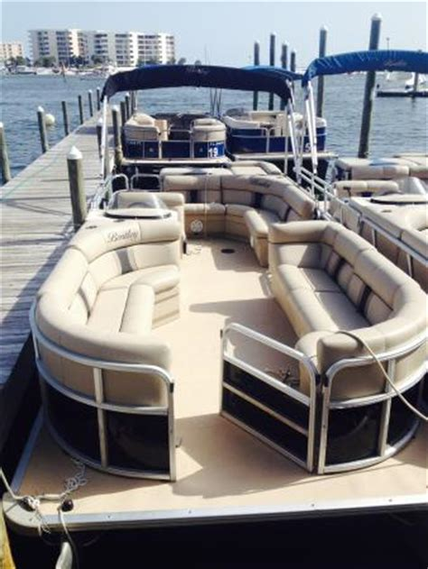 destin pontoon rentals pontoon boats for rent picture of destin vacation boat