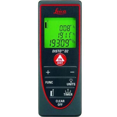 leica disto d2 197 ft laser distance measurer 763495