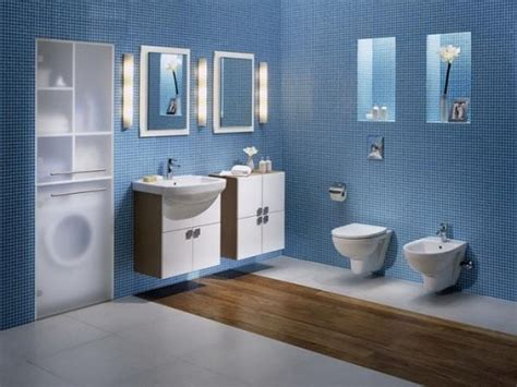 Dark Blue Bathroom Ideas by Elegant And Cool Blue Bathroom Ideas For Sweet Home
