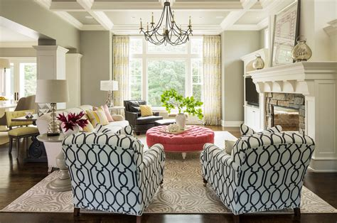 Print Chairs Living Room Design Ideas 10 Easy Ways To Mix And Match Patterns In Your Home Freshome