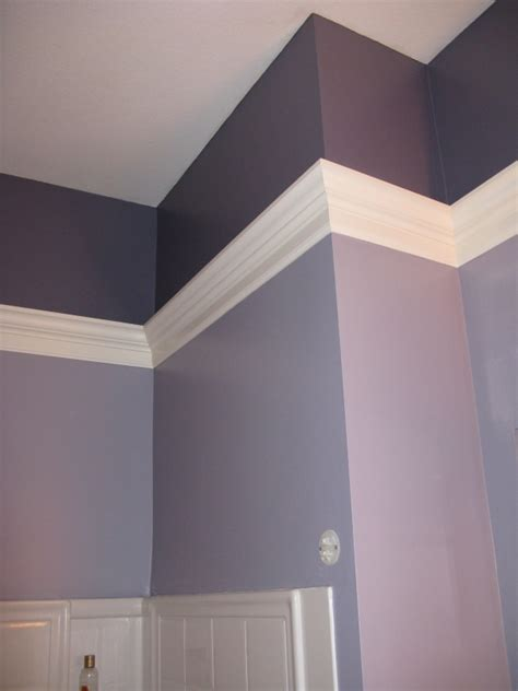 crown molding in bathroom corner design ceilings