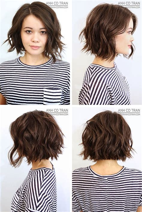 puffy short bob haircuts for women with thick hair anh co tran bob bobs haircuts and hair style