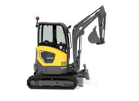 volvo 2019 electrique volvo ce unveils electric compact excavator and wheel