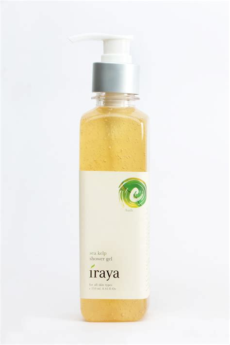 Shower Gel India by Discover The New You With Iraya S Exclusive Marine Based
