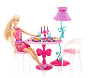 Glam Dining Room Furniture And Doll Set Et Salon