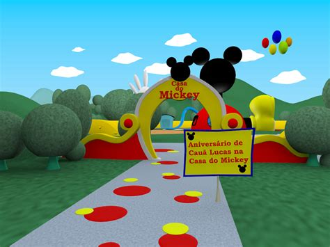 mickey house convite casa do mickey car interior design