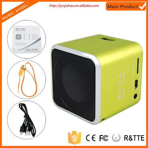 Speaker Aktif Mini portable usb fm mini speaker cara membuat aktif mini