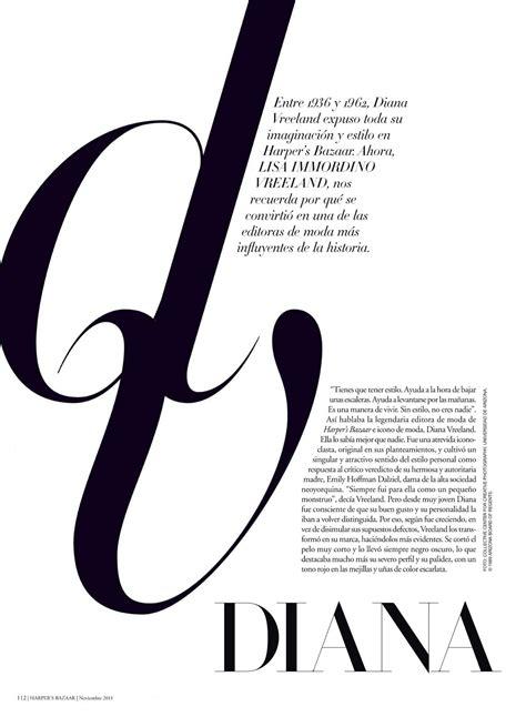 design magazine typography harper s bazaar type eh
