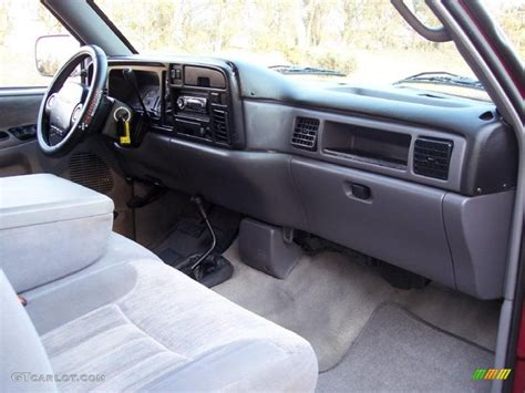 1997 dodge ram 1500 laramie slt extended cab 4x4 mist gray
