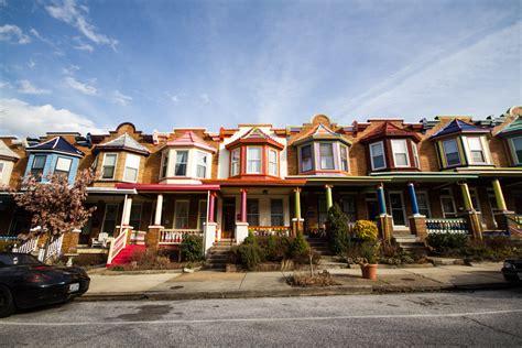 Row Houses Baltimore - abell exploring baltimore s neighborhoods