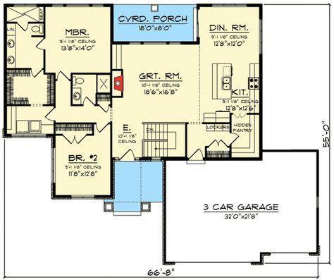2 Bedroom Rambler Plans Best 20 Rambler House Plans Ideas On Ranch