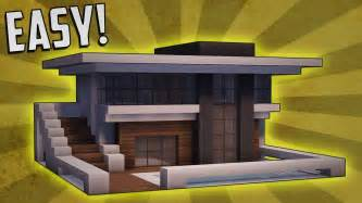 how to build a house minecraft how to build a small modern house tutorial 9