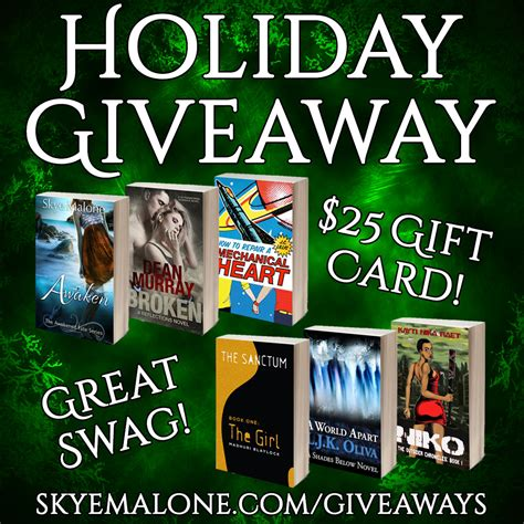 Holiday Giveaway - skye malone s holiday giveaway skye malone fantasy and paranormal romance author