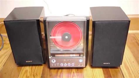sony cmt ex22 hdc mini bookshelf cd player stereo ss cex22