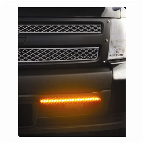 Bully Led Light Strips Amber 12 Quot Long Qty 2 Pilot Led Automotive Light Strips