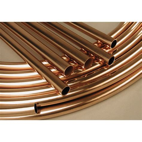 Copper Plumbing by 1m Of 10mm Water Diameter Plumbing Copper Pipe Central
