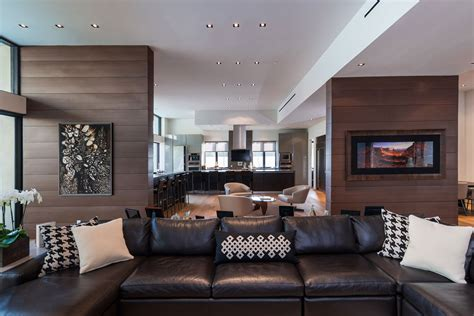 black sofa contemporary living room lda architects wallace ridge by whipple russell architects keribrownhomes
