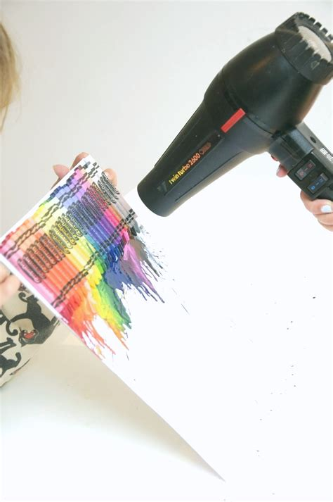 Crayon And Hairdryer crayola uberkid