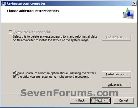 format hard disk recovery console i have data back up disc done by geek squad that i can not