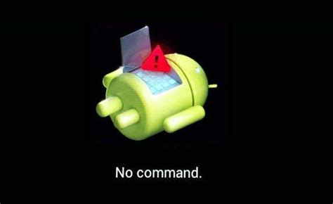 Android No Command top 2 ways to fix android recovery mode not working