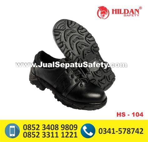 Sepatu Safety Pendek hs 104 distributor resmi sepatu safety pendek tanpa tali