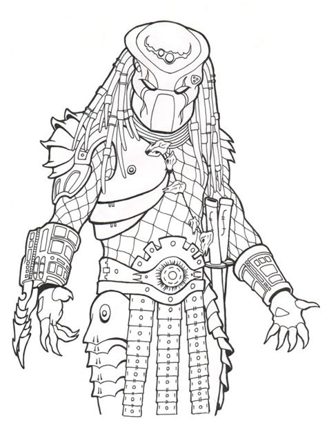 coloring book pages from pictures predator coloring pages free printable predator coloring