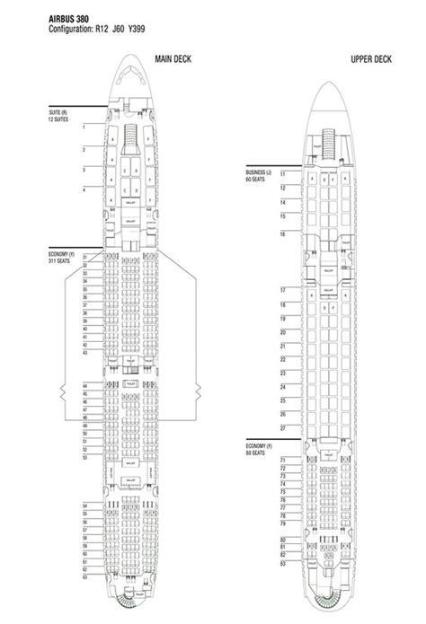 qantas a380 800 seating chart airbus a380 charts and seating charts on