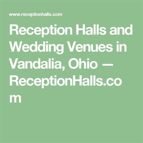 Best 25  Reception halls ideas on Pinterest