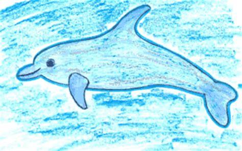 Animales Del Mar Gran Delf N | aprender a dibujar gran delf 237 n es hellokids com