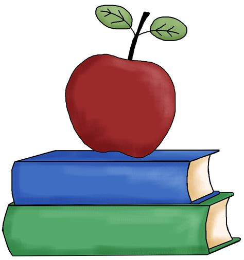 clipart for teachers apple clip clipart best