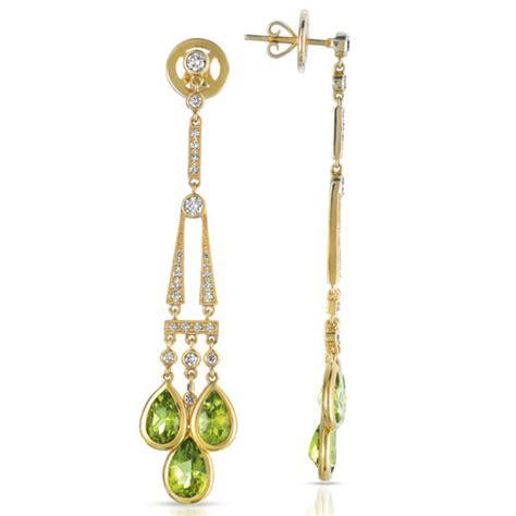peridot and earrings vanna k 1045