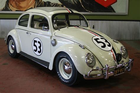 Volkswagen Beetle Herbie Goes Up For Auction Car24news Com