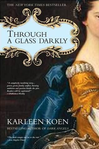 through a glass books through a glass darkly tamworth saga 2 by karleen koen