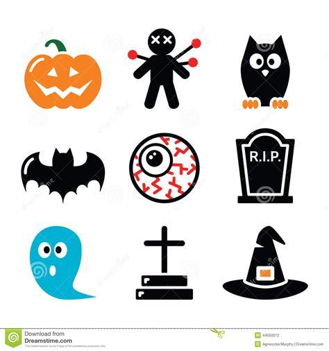 imagenes de halloween vector los iconos de halloween fijaron la calabaza bruja