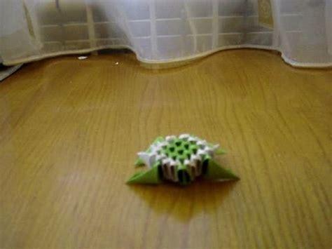 3d Origami Turtle - 3d origami mini turtle tutorial