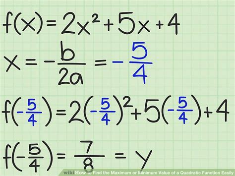 how do you find the value of a boat 3 ways to find the maximum or minimum value of a quadratic
