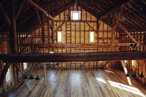 barn interior restoring barns and barn homes pinterest