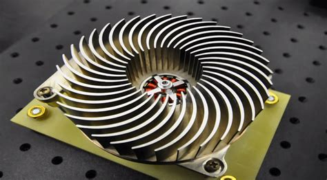 fan that uses to cool stanford uses the heat exchanger outer space
