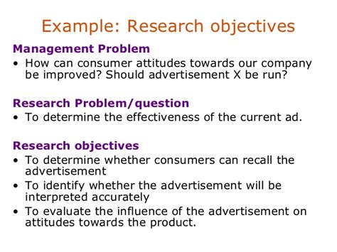 statement of research objectives 28 problem formulation and statement of research