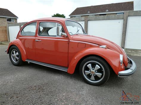 volkswagen orange mint 1971 volkswagen 1300 beetle orange very original