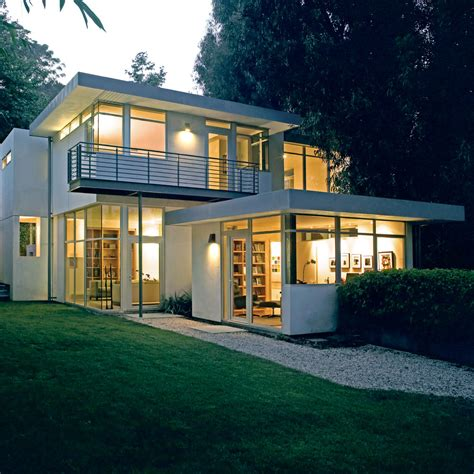 Contemporary Home Design Plans | contemporary house with clean and simple plan and interior